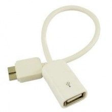 Cable microusb note 3 con salida USB