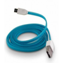 Cable datos micro-usb plano