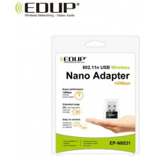 Adaptador wifi inalámbrico EDUP mini usb 150mbps receptor wifi 802.11n  ethernet usb  de red