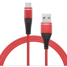 Cable USB TIPO-C a TIPO-C (1 metro) Rojo