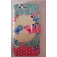 Funda con Tapa Iphone 6 Pajaritos