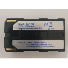 BAT780 Batería de Ion-Litio para CANON BP911