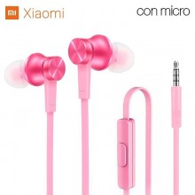 Auriculares 3,5 mm Universal Original Xiaomi Jack 3,5 mm Rosa (Con Blister)