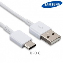 Cable USB Original Samsung Universal TIPO C Blanco (Sin Blister)