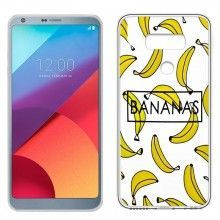 Carcasa LG G6 / G6 Plus Clear Bananas